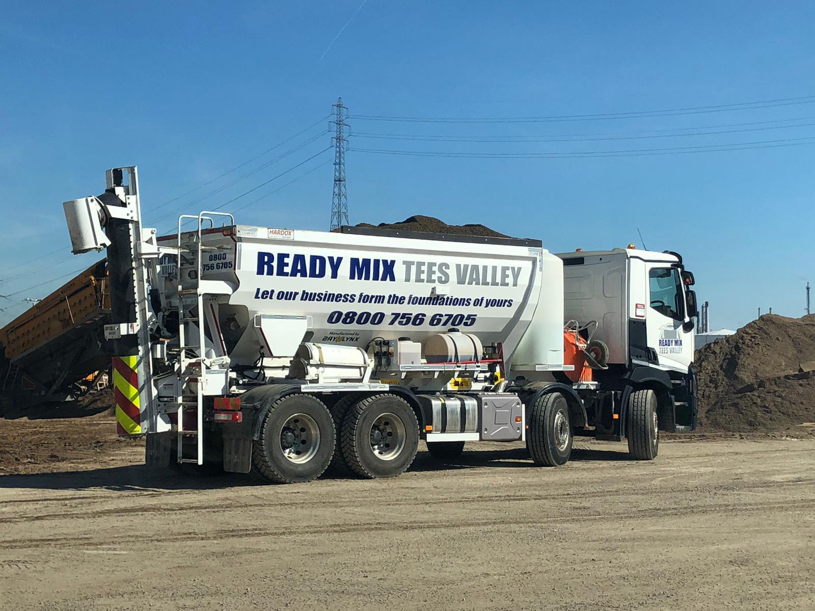 Volumetric Concrete Mixer Ready Mix Tees Valley